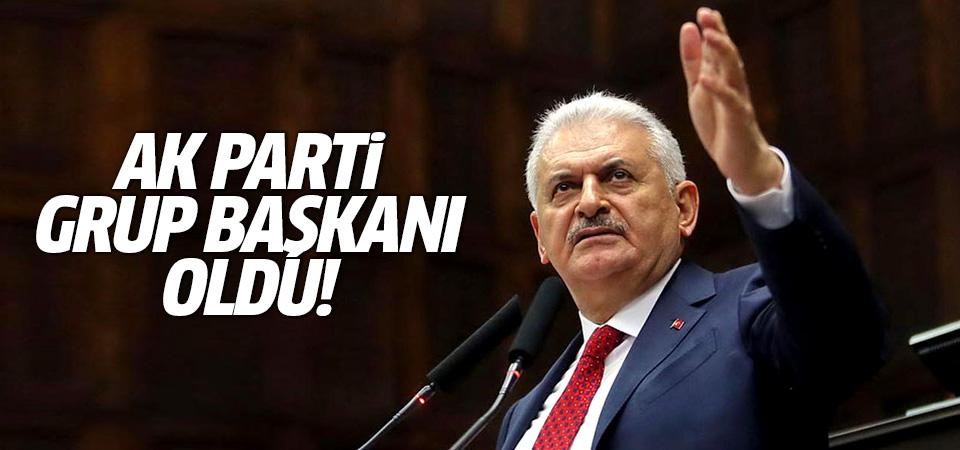 Başbakan Binali Yıldırım, AK Parti Grup Başkanı oldu