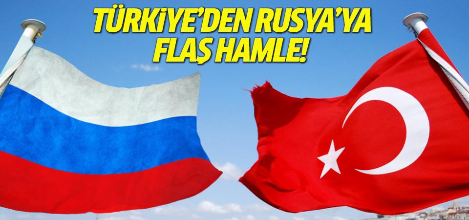 Türkiye'den Rusya'ya karşı flaş hamle