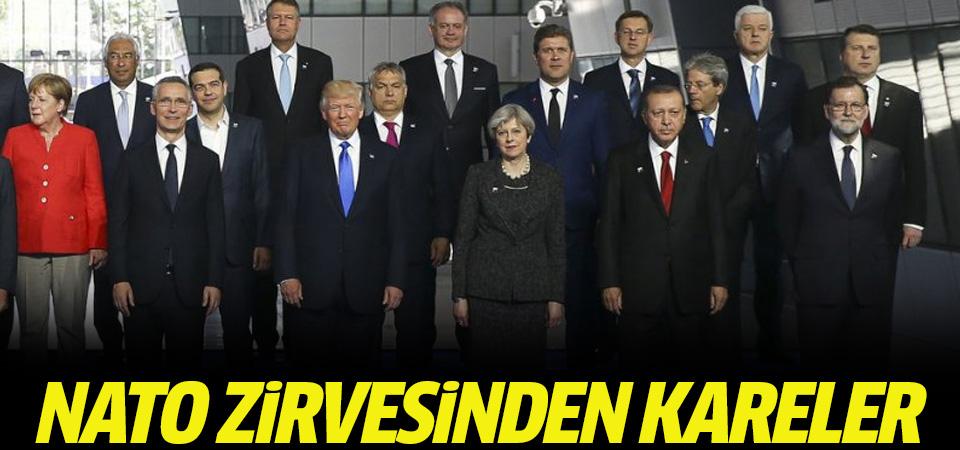 Cumhurbaşkanı Erdoğan NATO Liderler Zirvesi'nde