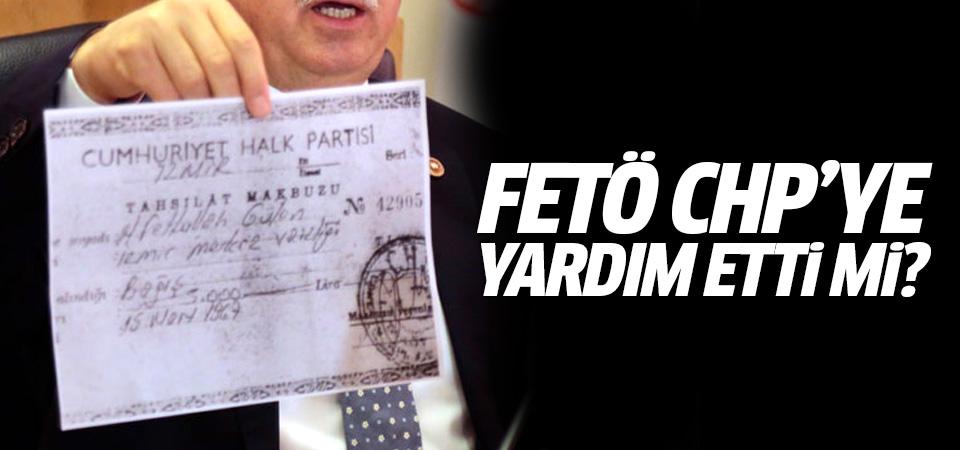 Ortalığı karıştıran belge! FETÖ CHP'ye yardım etti mi?