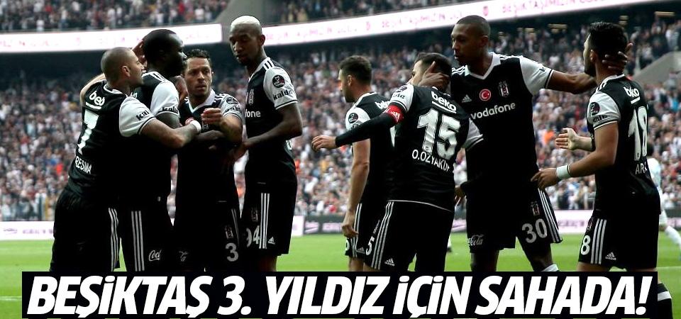 Beşiktaş 3. yıldız için sahada! İşte muhtemel 11'ler...