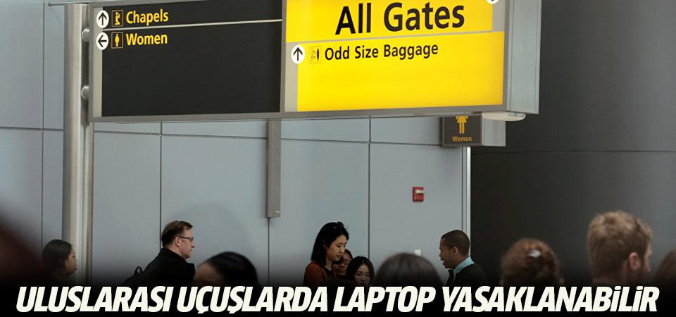 ABD: Uluslararası uçuşlarda laptop yasaklanabilir