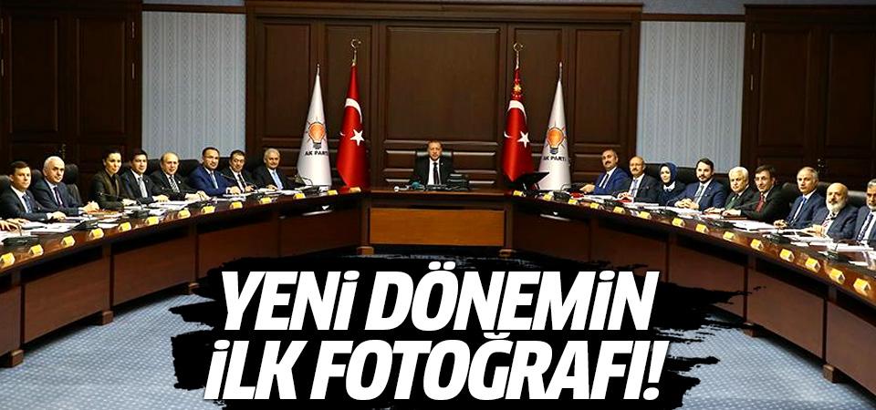 Erdoğan başkanlığında ilk MKYK toplantısı başladı... İşte ilk fotoğraflar