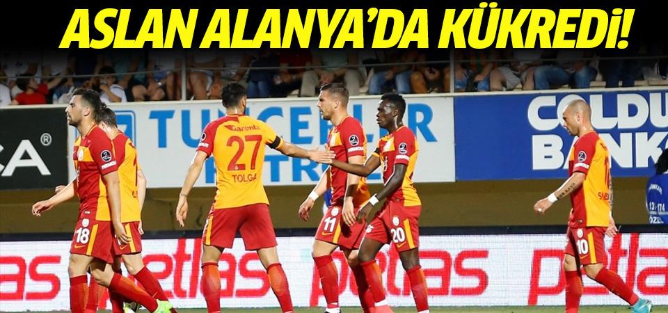 Alanyaspor-Galatasaray maçı CANLI ANLATIM