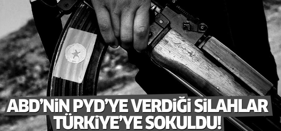 ABD'nin PYD'ye verdiği silahlar Türkiye'ye sokuldu