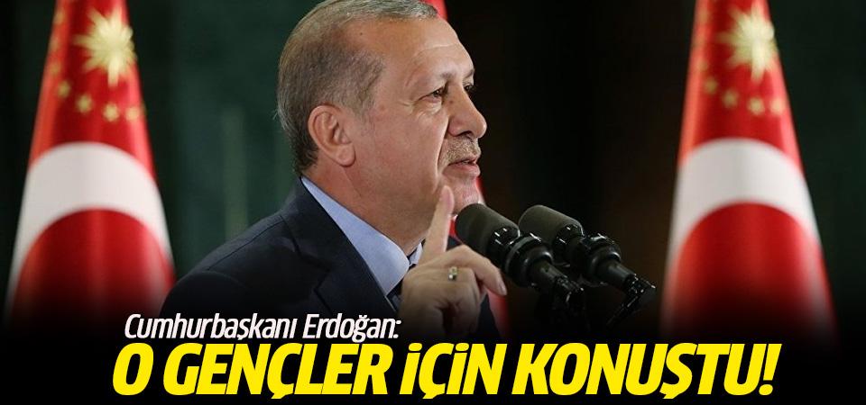 Erdoğan: Gençleri uyuşturucu terörüne feda edemeyiz