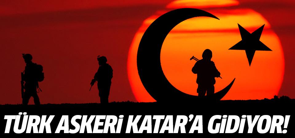 Türk askeri Katar'a gidiyor!