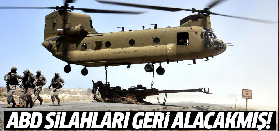 ABD'de YPG'den silahları geri alacakmış!