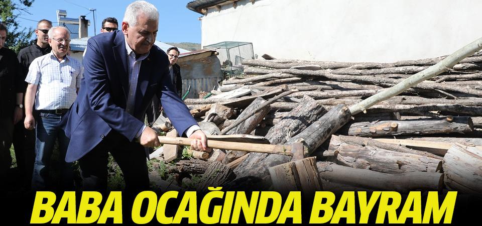 Başbakan Yıldırım memleketi Erzincan'da