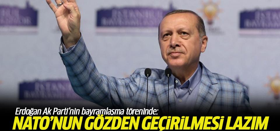 Erdoğan: NATO'nun gözden geçirilmesi lazım