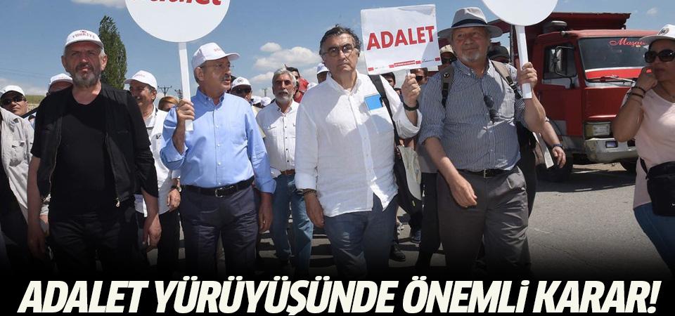 Adalet Yürüyüşü'ne provokasyon önlemi: 25 vekil görevli yeleği giyecek