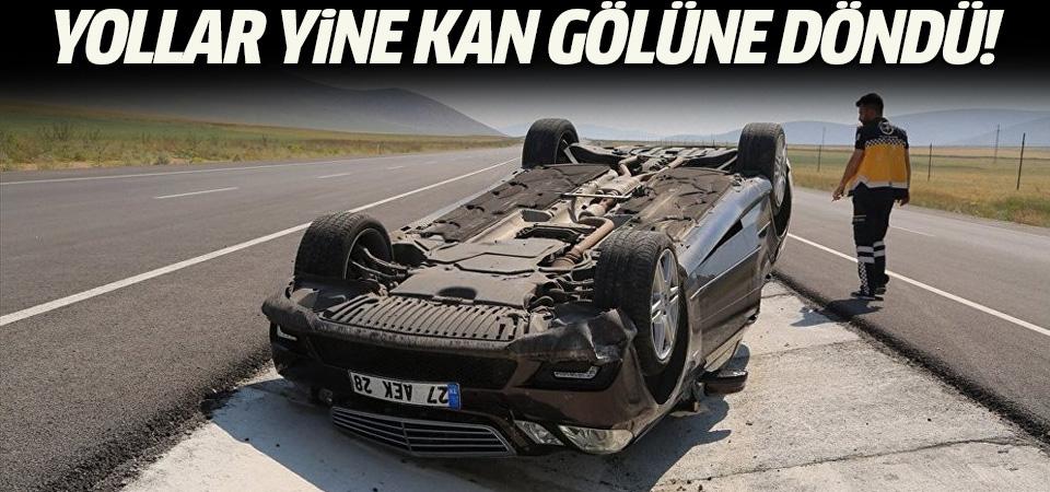 Bayram tatilinin başlamasından bu yana trafik kazalarında 51 kişi öldü, 284 kişi yaralandı