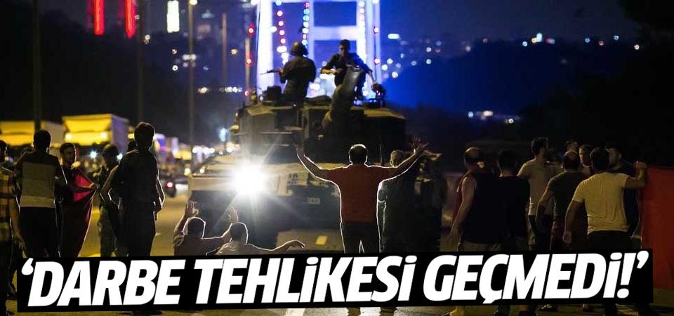 Ahmet Zeki Üçok: Darbe tehlikesi geçmedi