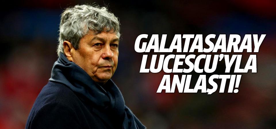 Galatasaray Lucescu'yla anlaştı