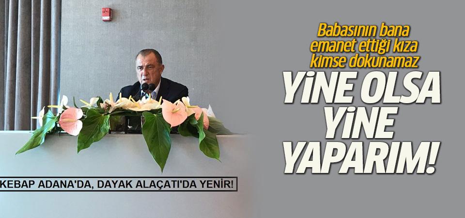 Fatih Terim'den kavga açıklaması: Yine olsa yine yaparım