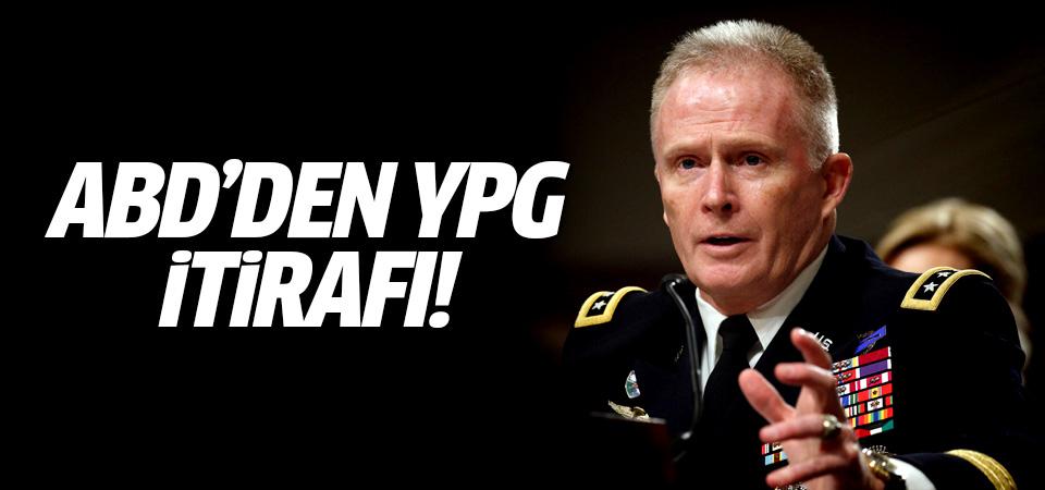 ABD'den YPG itirafı!