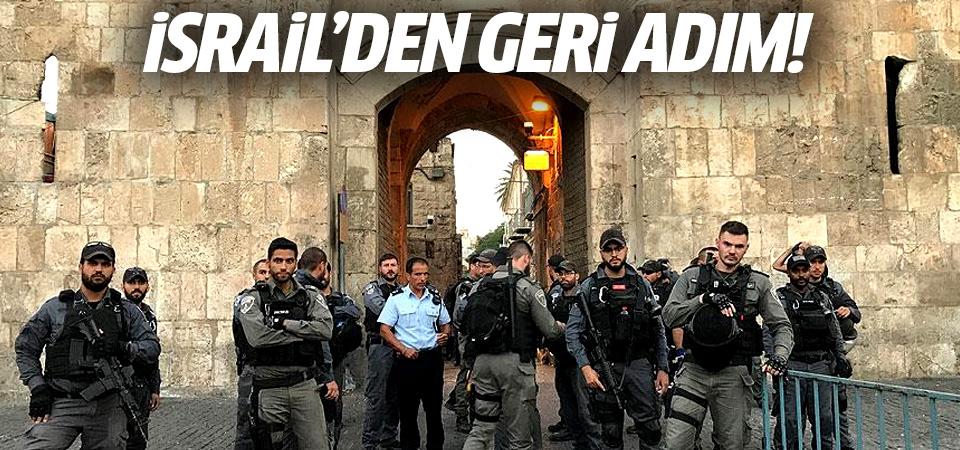 İsrail'den geri adım: Arama dedektörleri kaldırılıyor