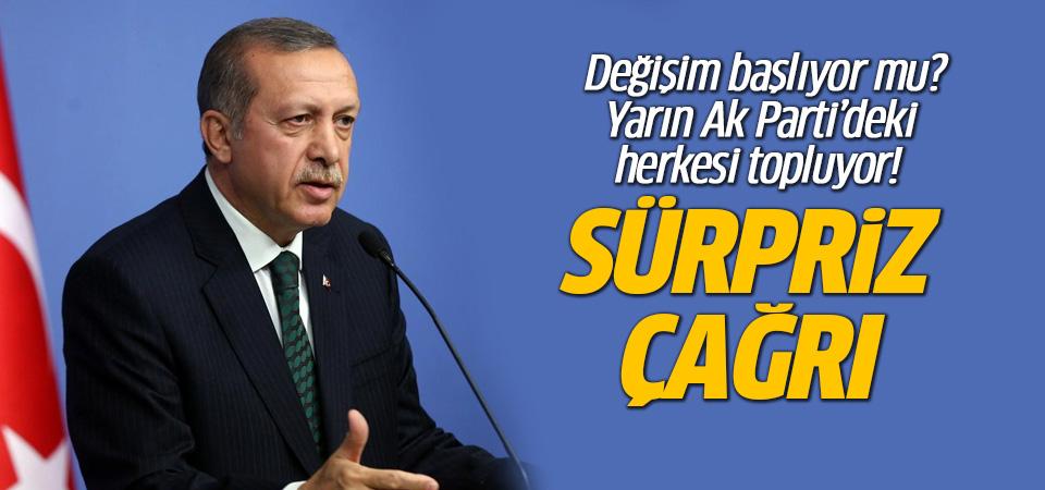 Erdoğan'dan kabineye ve AK Partililere flaş toplantı çağrısı