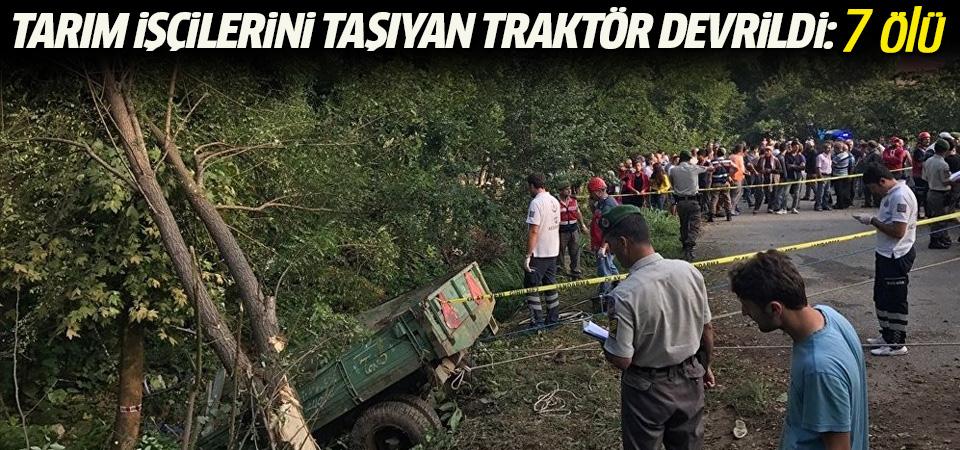 Sakarya'da katliam gibi kaza! Çok sayıda ölü var