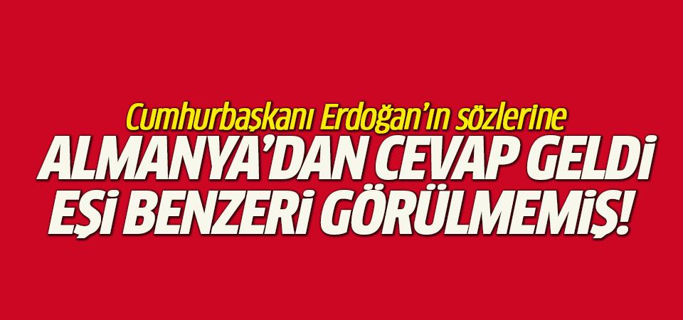 Erdoğan'ın çağrısına Almanya'dan yanıt!