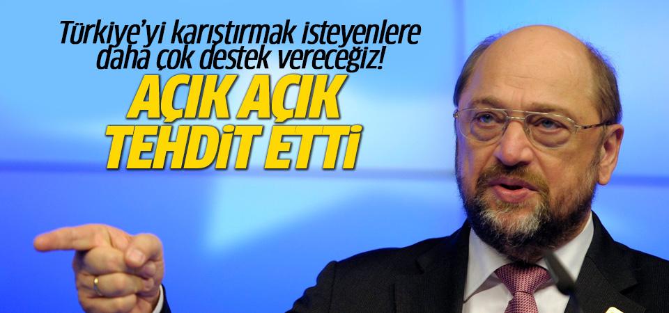 Martin Schulz'tan Türkiye açıklaması