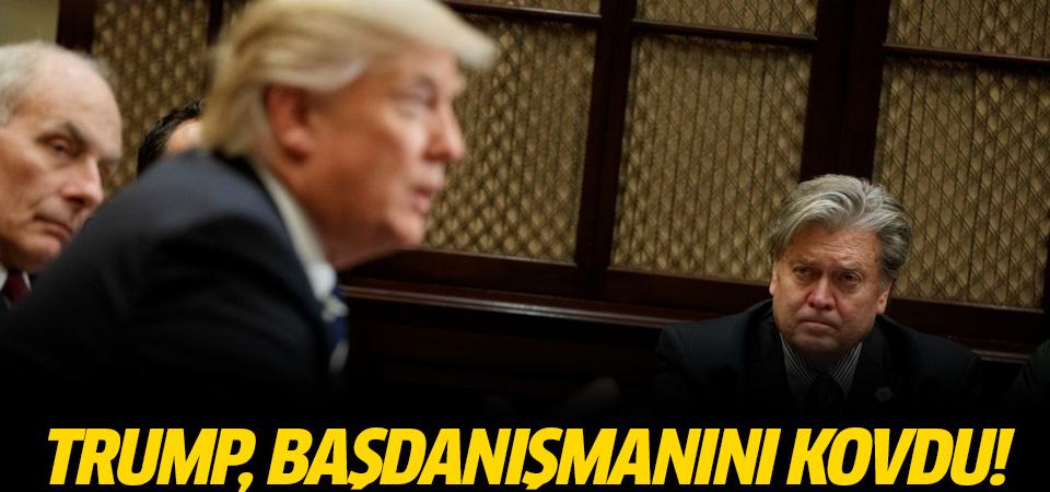 Trump, Bannon'un görevine son verdi
