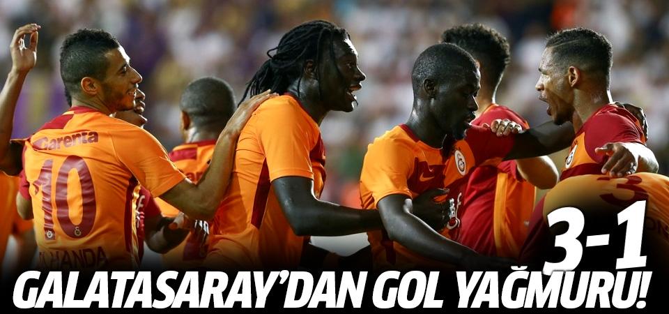 Galatasaray'dan gol yağmuru! 3-1