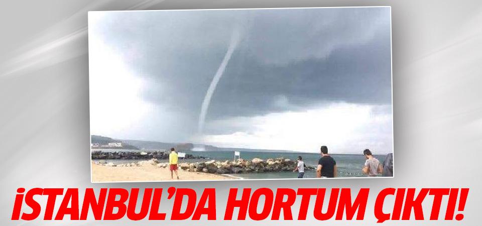 Beklenen yağış başladı! İstanbul'da hortum çıktı