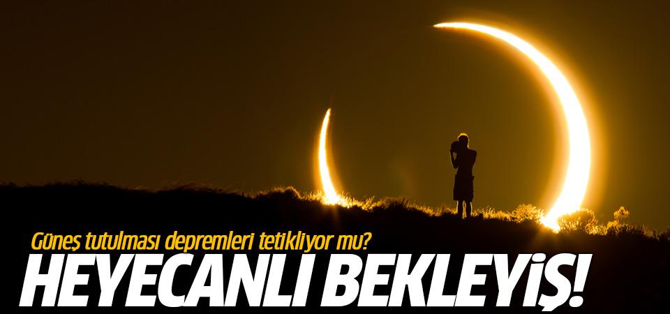 Güneş tutulmasının korkutan kehanetleri! Güneş tutulması için saatler kaldı… (NASA CANLI YAYIN)