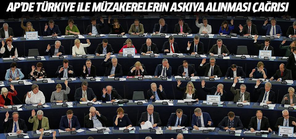 AP'de Türkiye ile müzakerelerin askıya alınması çağrısı