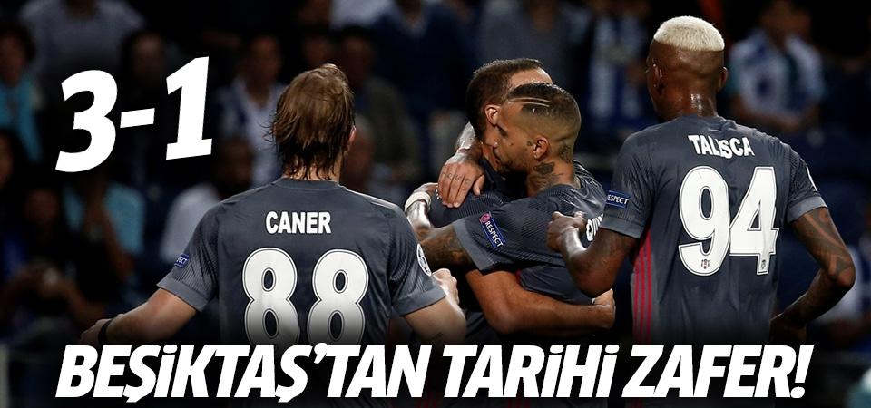 Beşiktaş'tan tarihi zafer! 3-1
