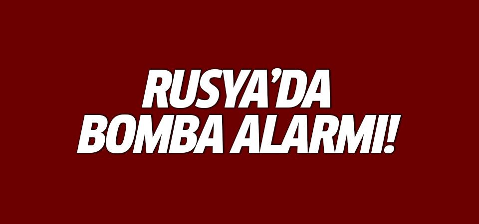 Rusya'da bomba alarmı! 20 binden fazla kişi tahliye edildi