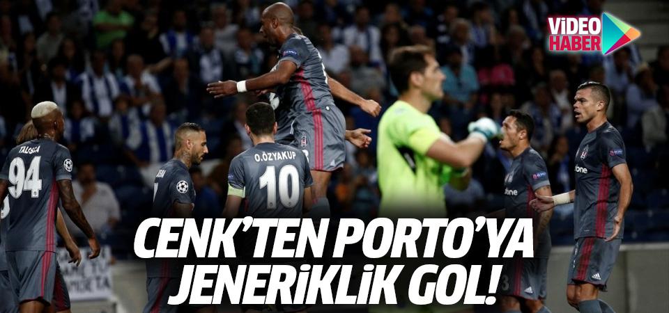 Cenk'ten Porto'ya jeneriklik gol! Porto-Beşiktaş maçı golleri ve geniş özeti