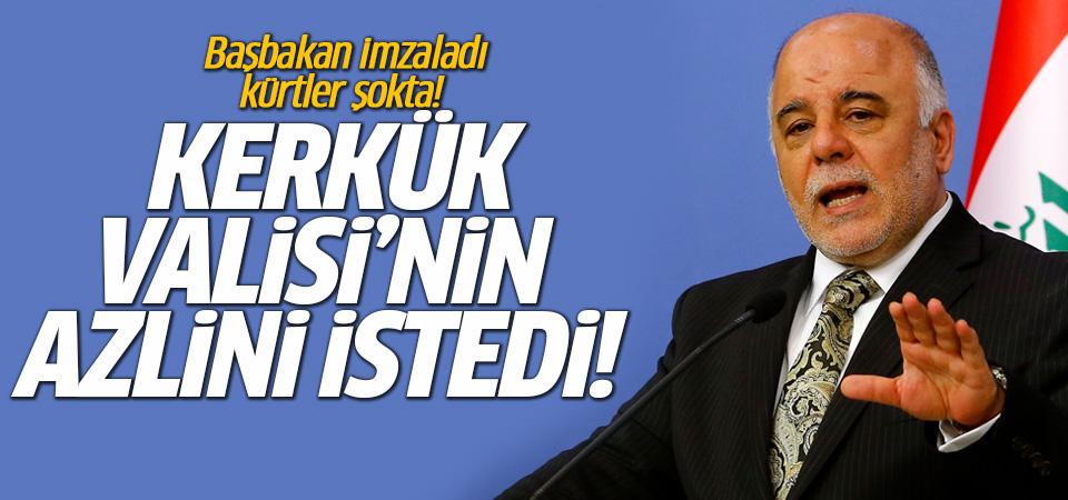 Kerkük Valisi, Başbakan İbadi'nin talebiyle görevden alındı