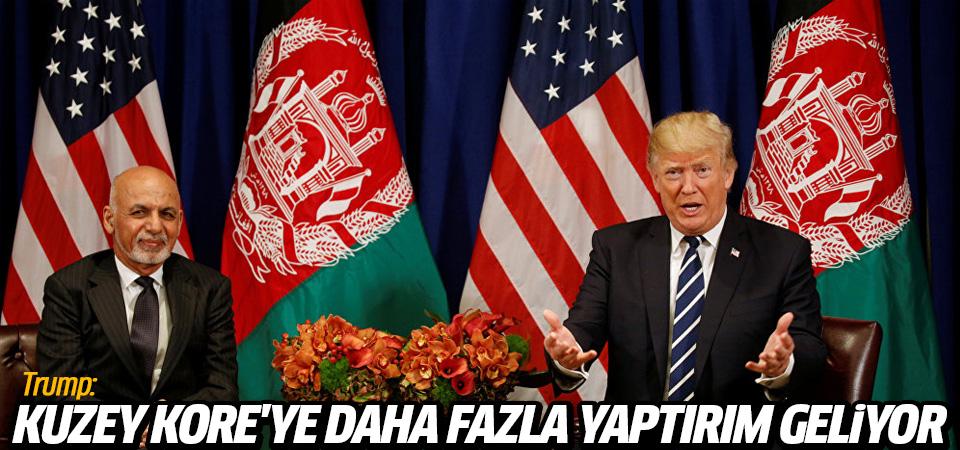 Trump: Kuzey Kore'ye daha fazla yaptırım geliyor