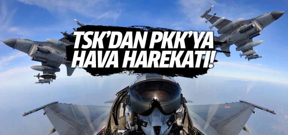 TSK'dan Kandil, Metina ve Gara bölgelerine hava harekatı