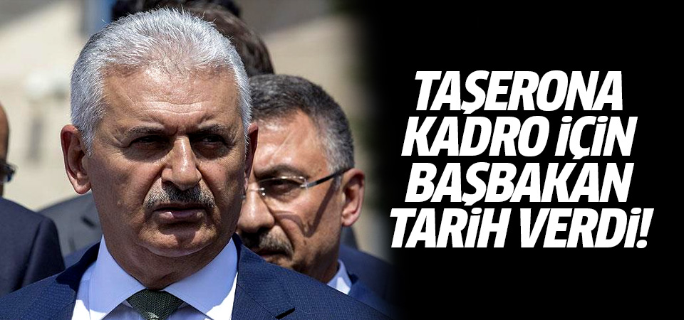 Taşerona kadro için Başbakan tarih verdi!