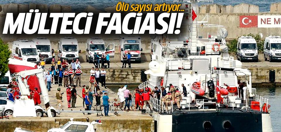 Kocaeli açıklarında göçmen teknesi battı: 15 ölü, 20 kayıp