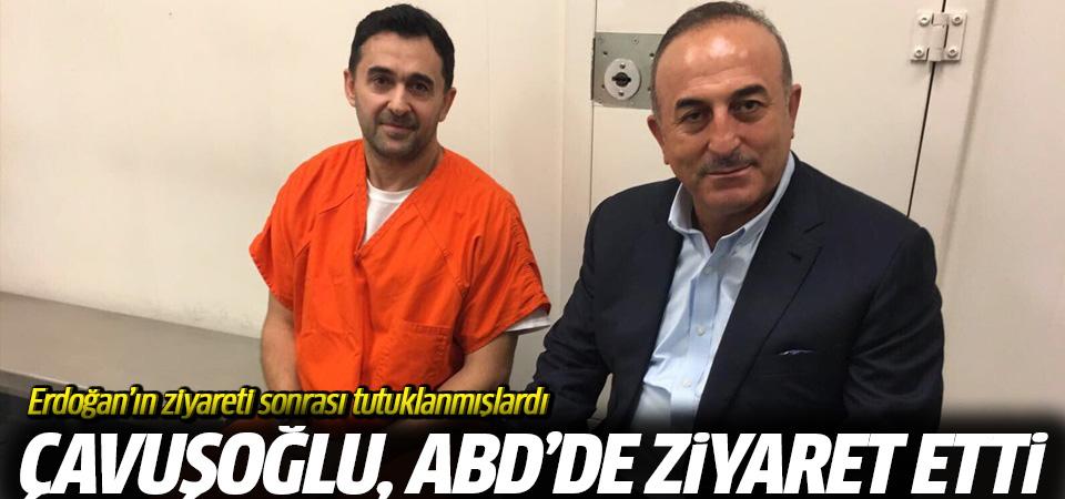 Çavuşoğlu cezaevinde ziyaret etti