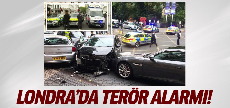 Londra'da terör alarmı! Bir araç kalabalığın arasına daldı