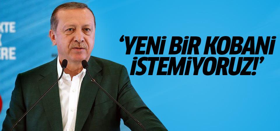 Erdoğan'dan İdlib mesajı: Yeni bir Kobani istemiyoruz!