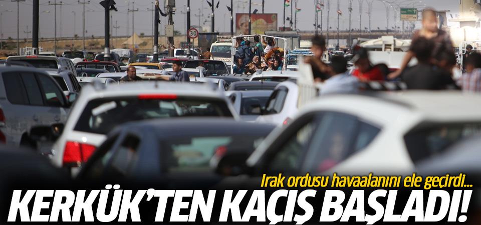 Irak ordusu Kerkük havaalanını ele geçirdi! Kerkük'ten kaçış başladı!