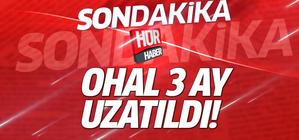 Bozdağ: OHAL 3 ay daha uzatıldı