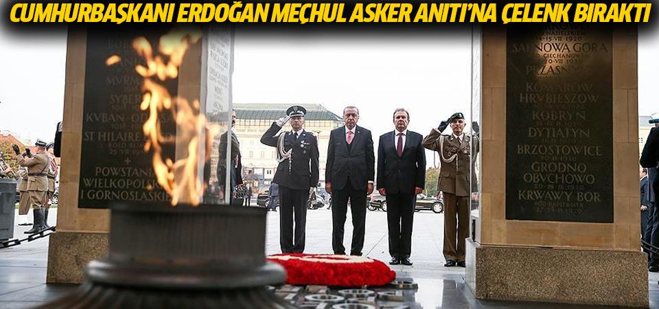 Cumhurbaşkanı Erdoğan Meçhul Asker Anıtı'na çelenk bıraktı
