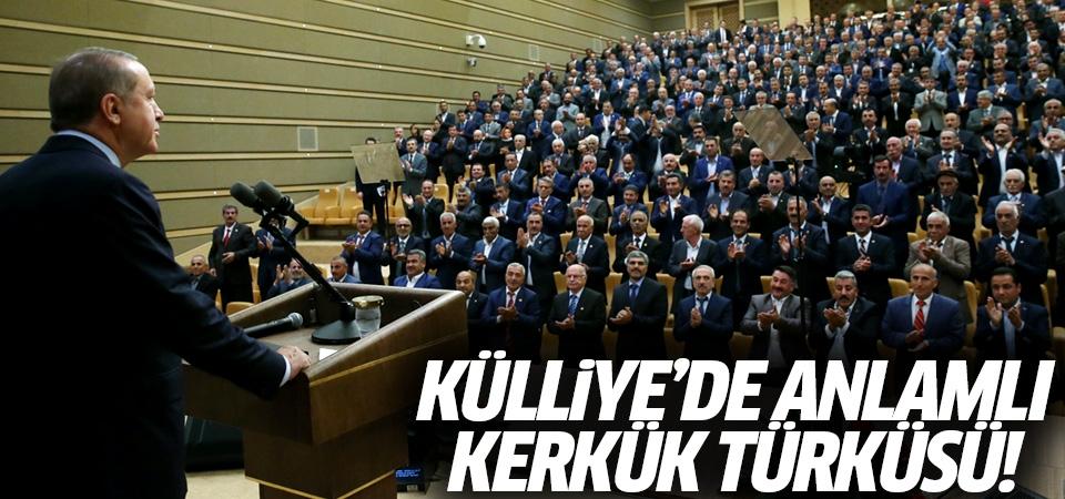 Külliye'de anlamlı Kerkük türküsü!