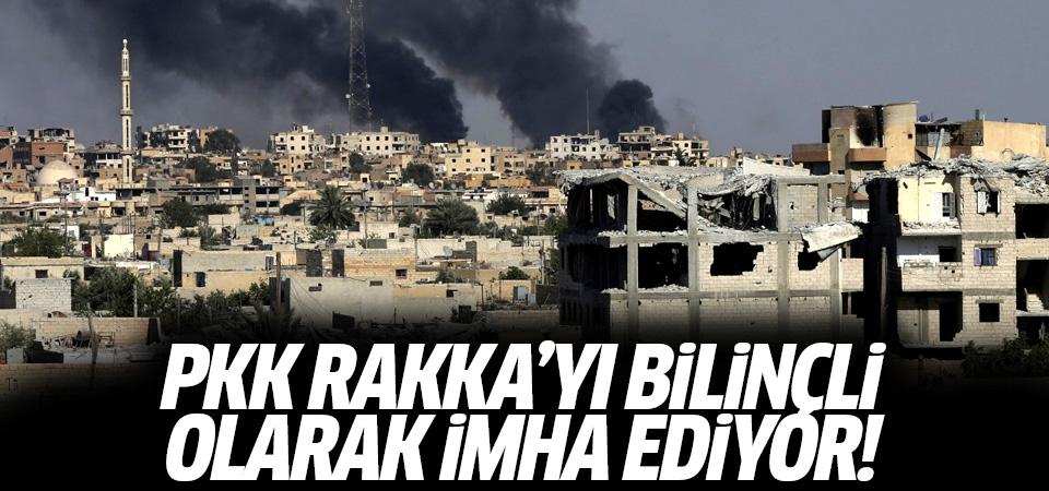 Times: PKK Rakka'yı bilinçi olarak tahrip ediyor!