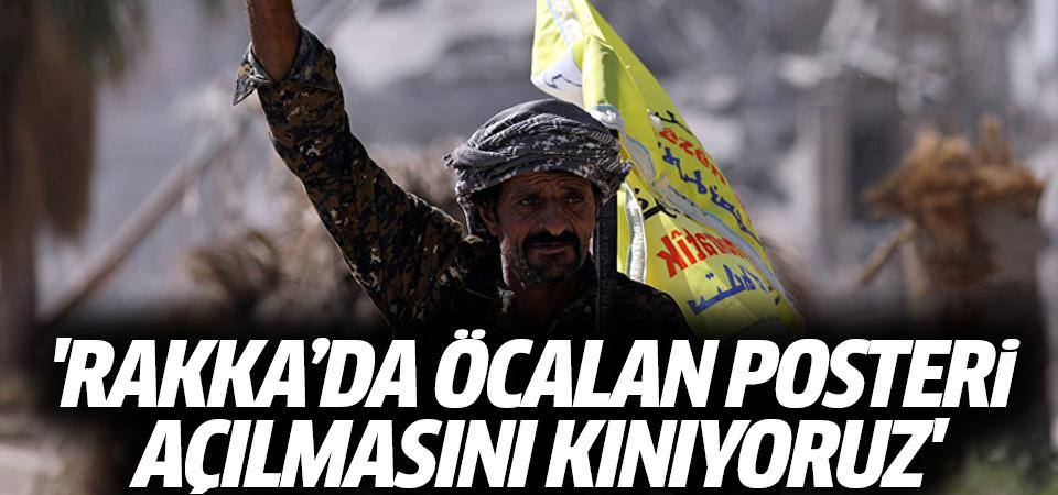 Pentagon: Rakka'da Öcalan posteri açılmasını kınıyoruz