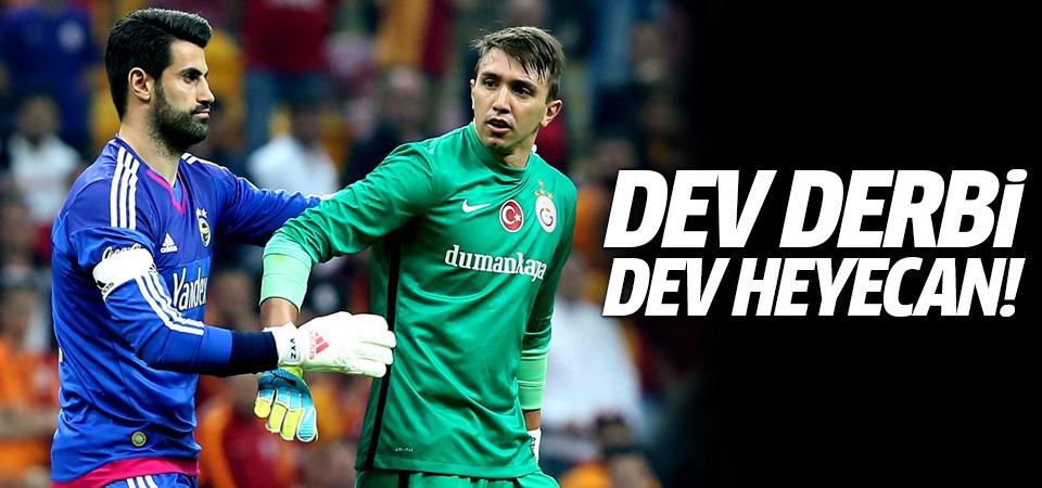 Dev derbi, dev heyecan! Galatasaray-Fenerbahçe maçı muhtemel 11'leri