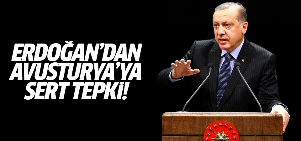 Cumhurbaşkanı Erdoğan'dan Avusturya'ya tepki: Böyle bir rezalet olabilir mi?