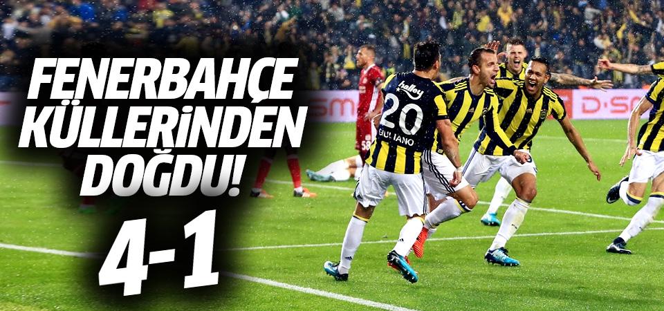 Fenerbahçe küllerinden doğdu! 4-1